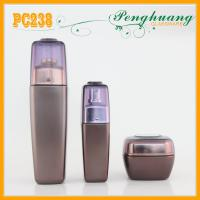 Buy cheap 120ml Frosty High Quality Glass Bottles For Cosmetics , 60g Cosmetic Glass Jars from wholesalers