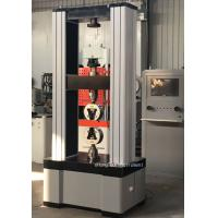Buy cheap Leather Tensile Test Universal Testing Machine With Data Processing Query Function from wholesalers