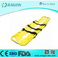 Buy cheap Seperatable Yellow Emergency PE Foldable Stretcher Scoop for Transfer Patients from wholesalers