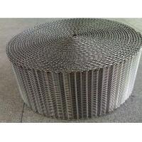 304 Stainless Steel Mesh Conveyor Belt , Pressed Steel Wire Conveyor Belt Custom