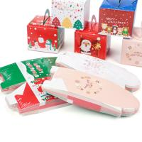 Buy cheap White Cardboard Fancy Christmas Packaging Boxes For Apple And Socks from wholesalers