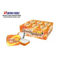 Buy cheap Classic Square Tin Box Candy Sour Sweets Sugar Free Mints Orange Flavor from wholesalers