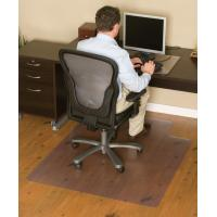 Buy cheap Transparent PVC Non Studded Chair Mat Office Floor Protection Mats from wholesalers