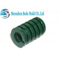 Buy cheap Green Precision Mold Spring / Machinery Heavy Duty Die Springs JIS Standard from wholesalers
