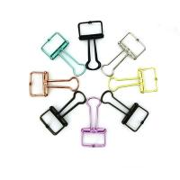 Buy cheap No Magnetic and No Shaped Paper Clip skeleton binder clips hollow paper clips,wire binding clip from wholesalers