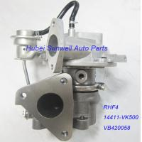 Buy cheap Nissan Navara PICK UP 2.5 DI turbo RHF4 14411-VK500 VN3 turbocharger VB420058 from wholesalers