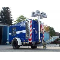 Buy cheap High mast lighting tower and vehicle internal mounted telescopic light tower mast pole from wholesalers