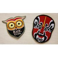 Buy cheap Colorful Custom Embroidered Patches backed Glue For Union Form from wholesalers