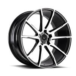 Buy cheap black alloy car wheel rim aluminum 18 19 20 21 22 inch wheel blanks from wholesalers