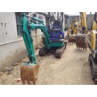 Buy cheap Used KOMATSU PC15  1.5 Ton Mini Excavator For Sale with Rubber track shoe product