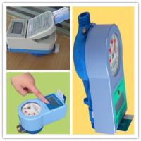 Buy cheap PPO Material IC Card Water Prepaid Meters , 15mm - 25mm Household Water Meter Touch Type from wholesalers