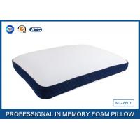 Buy cheap Bread Shaped Cool Silica Gel Memory Foam Pillow With Piping Zippered Cover product