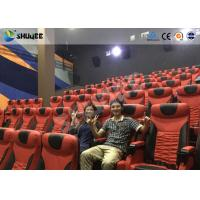 Buy cheap Electrical / Hydraulic4D Movie Theater Equipment For Action Movies 4 seats - 100 seats product