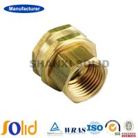 Buy cheap Manufacturer Male Thread Connector Brass Ferrule Fittings from wholesalers