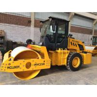 Buy cheap 10 T Full - Hydraoulic Vibratory Road Roller CLG610H SR10P Work With Sheep Foots from wholesalers