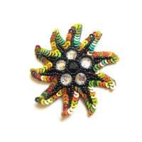Buy cheap Colorized sequins hand embroidery patch from wholesalers