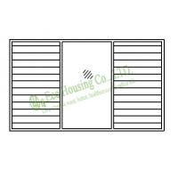 Buy cheap Aluminum Glass Louvered windows,Hurricane-proof Louvered windows,shutters,Jalousie louver from wholesalers
