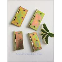 Buy cheap Zinc Plated Heavy Duty Door Hinges Wooden Packing Yellow Color 6 Pair from wholesalers