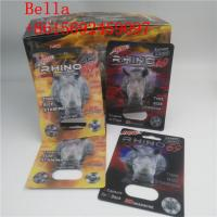 Buy cheap Private labels Capsule case Black Mamba 18000 / Rhino 69 9000 pill packaging 3D cards from wholesalers