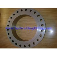 Buy cheap Steet Flanges, Duplex Material, A182 F51 A182 F60 F53 (UNS S32750) B16.5 product