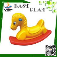 Buy cheap Anti UV Plastic Rocking Horse Improve Intelligence For 3 - 8 Years Old Kids from wholesalers