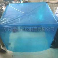 Buy cheap Wholesale custom 52 x 42 x 72 Inch 4 Mil Reusable Plastic Pallet Cover from wholesalers
