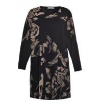 Buy cheap Long Sleeve Mature Ladies Plus Size Dresses Customized Color / Material from wholesalers