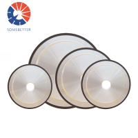 Buy cheap Surface Polishing Electroplated Diamond Grinding Wheels 45 Degree from wholesalers