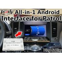 Buy cheap LVDS Android Auto Interface 2 Video Outputs / Google Map For Nissan Patrol from wholesalers