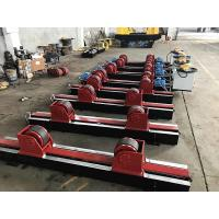Buy cheap Lead Screw Adjustment Tank Turning Rolls , Digital Speed Display Pipe Welding Stands from wholesalers