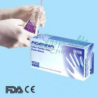 Buy cheap Dental latex gloves/latex disposable gloves/latex exam gloves from wholesalers