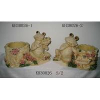 Buy cheap frog, figurine, statue, animal, polyresin from wholesalers
