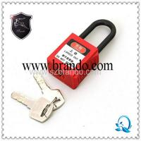 Buy cheap high quality zinc alloy safety padlock from wholesalers
