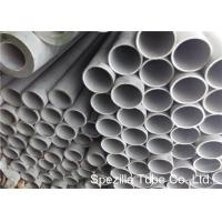 Buy cheap 304L Stainless Steel Heat Exchanger Tube , Stainless Steel Round Pipe Heat Exchanger Tubing from wholesalers