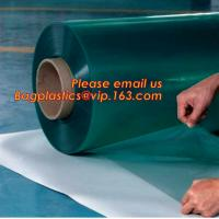 Buy cheap Rigid PET Film coated with PE protective film, white color protective film for car, clear carpet protective film in roll from wholesalers