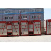 Painted / Hot Dipped Zinc Construction Hoist Rental 1000kg  - 3200kg