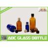 Buy cheap Wholesale 1/2oz 1oz 2oz 4oz 8oz  Amber Cobalt Blue Boston Round Glass  Screw Bottle from wholesalers