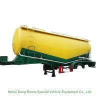 Buy cheap 50-70cbm 2/3 Axle Cement Silo Trailer , Dry Bulk Cargo Trailer 40 - 100 Tons from wholesalers
