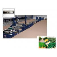Buy cheap Flat Drip Irrigation Pipe Extrusion Line , 85kw Plastic Pipe Production Line from wholesalers