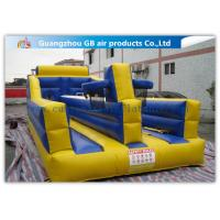 Buy cheap Exciting Child Bungee Run Inflatable Sports Games With Basketball Hoop product