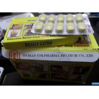Buy cheap Paracetamol And Diclofenac Sodium Tablets 50mg , Really Extra Small Yellow Oval Shaped Pill from wholesalers