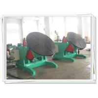 Buy cheap 1200kg Rotary Welding Turning Table Pipe Elbow Welding Foot Pedal Control from wholesalers