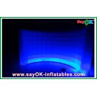 Buy cheap White Inflatable Air Tent Waterproof , Curved Inflatable Wall For Exhibition from wholesalers