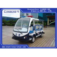 Buy cheap Customized Design Electric Police Patrol Car , Golf Electric Cart Four Wheel from wholesalers