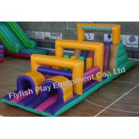 Buy cheap boot camp inflatable obstacle course from wholesalers