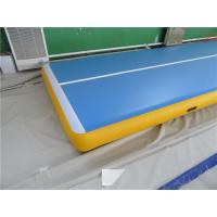 Buy cheap Sturdy Inflatable Gymnastics Mat In Pool Air Floor Mat ROHS / SGS Approved from wholesalers