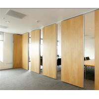 Buy cheap MDF Moveable Operable Partition Wall Panels For Conference Room / Exhibition Hall from wholesalers