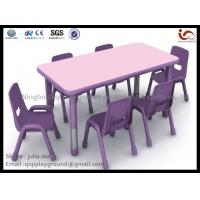 Buy cheap Children Furniture plastic table and chair Preschool Used library school furniture from wholesalers