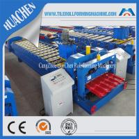 Buy cheap Color Steel Glazed Tile Roll Forming Machine , Roof Wall Cladding Roll Former Machine from wholesalers