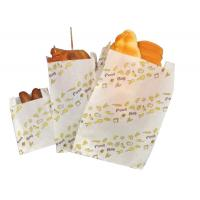 Buy cheap Customized Greaseproof Paper Bags For Fried Chicken Chips Steak Bread from wholesalers